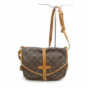 Auth Louis Vuitton Saumur Bag Crossbody #923L19